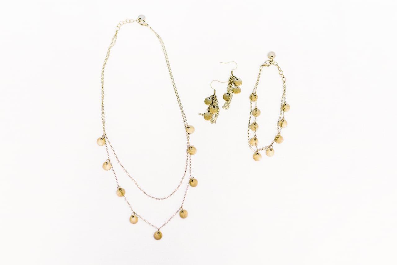 Flourish jewelry set