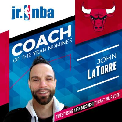 John Latorre Voting Graphic JrNBA Coach of the Year